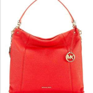 Nwt Michael kors lex large leather hobo